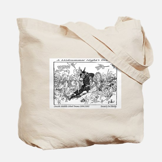 Midsummer Night's Drama Tote Bag