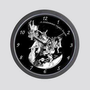 Midsummer Night's Drama Wall Clock