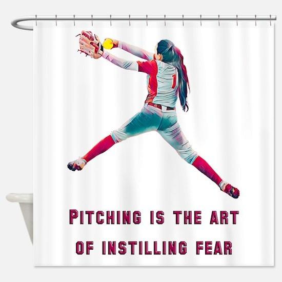 Pitch - Instill Fear Shower Curtain