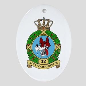 Soesterberg Air Base Oval Ornament