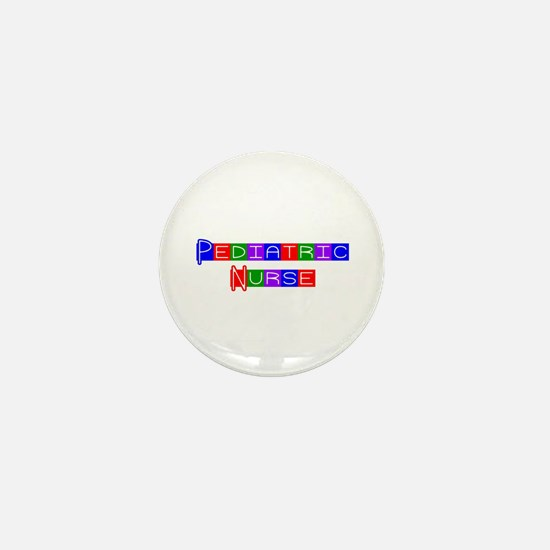 Pediatric Nurse Mini Button