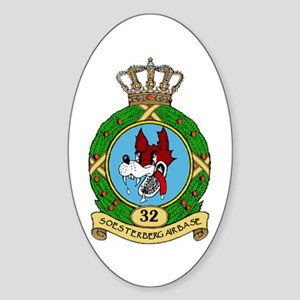 Soesterberg Air Base Oval Sticker