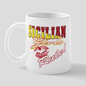 Sicilian girls rule Mug