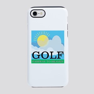 Golf Fairway to Heaven iPhone 8/7 Tough Case