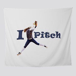 I Pitch! Wall Tapestry