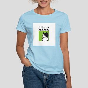 Three-Cat Mama Women's Light T-Shirt
