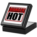DANGER: HOT! Keepsake Box