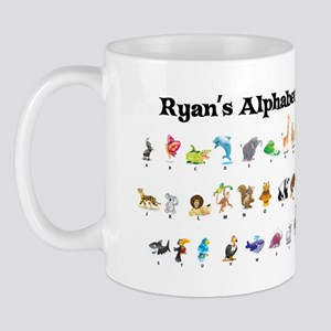 Ryan's Animal Alphabet Mug