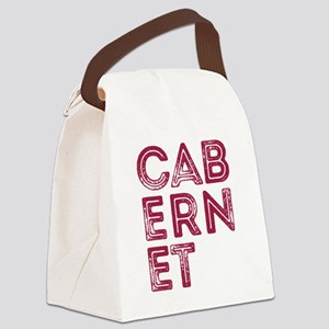 Cabernet Wine Canvas Lunch Bag