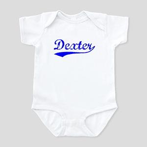 Vintage Dexter (Blue) Infant Bodysuit