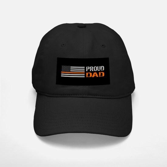 U.S. Flag Orange Line: Proud Baseball Hat
