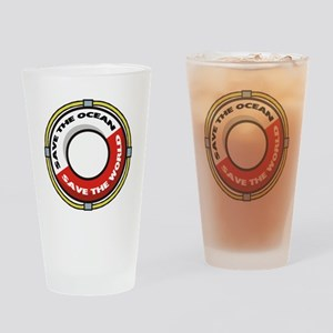 Save the Ocean Drinking Glass