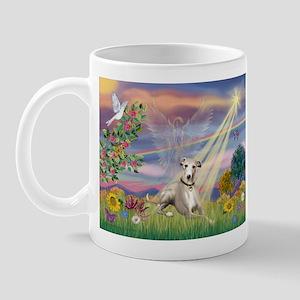 Cloud Angel & Whippet Mug
