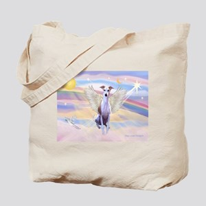 Clouds / Whippet Tote Bag