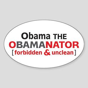 Obama Oval Sticker