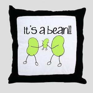 Baby Bean Throw Pillow