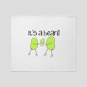 Baby Bean Throw Blanket