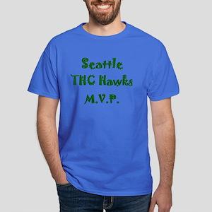 Seattle THC Hawks MVP Team Dark T-Shirt