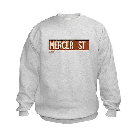 Mercer Street in NY Kids Sweatshirt
