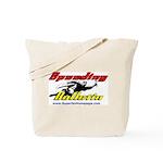Speeding Bulletin/Bailey Planet Tote Bag