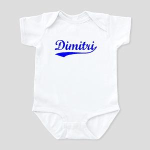 Vintage Dimitri (Blue) Infant Bodysuit