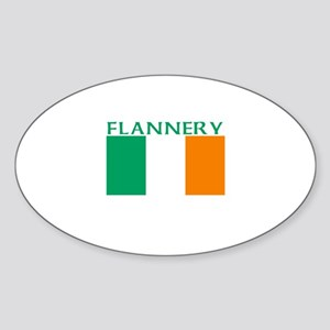 Flannery Oval Sticker