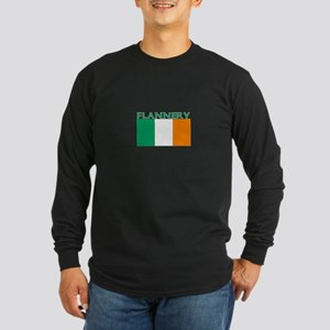 Flannery Long Sleeve Dark T-Shirt