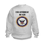 USS GENDREAU Kids Sweatshirt