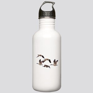 Flock of Canadian Gees Stainless Water Bottle 1.0L