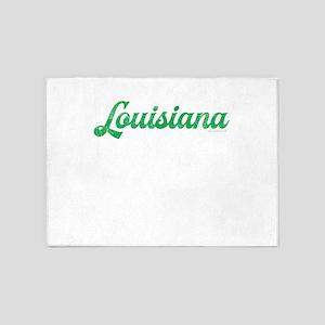Louisiana Script 5'x7'Area Rug