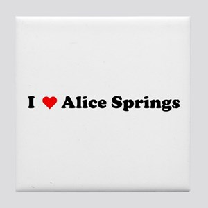 I love Alice Springs Tile Coaster
