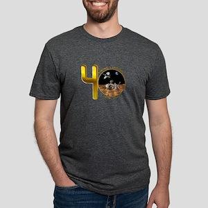 Viking @ 40!!! Mens Tri-blend T-Shirt