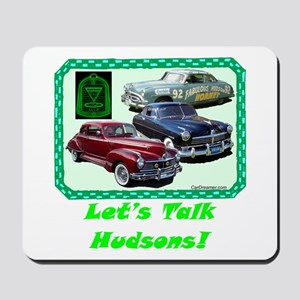 """Let's Talk Hudsons"" Mousepad"