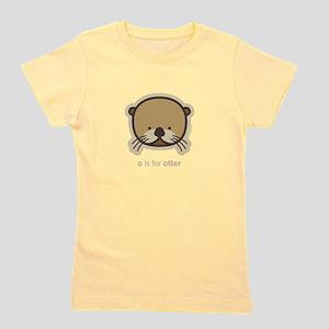 weeonez_otter_darkt_12x12 T-Shirt