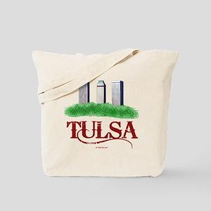 Tulsa Towers Tote Bag