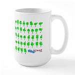 Don't Pinch Me Large Mug