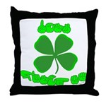 Don't Pinch Me Throw Pillow