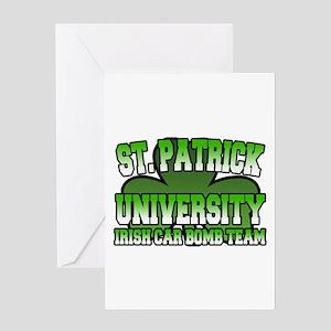 St. Patrick University Irish Car Bomb Team Greetin