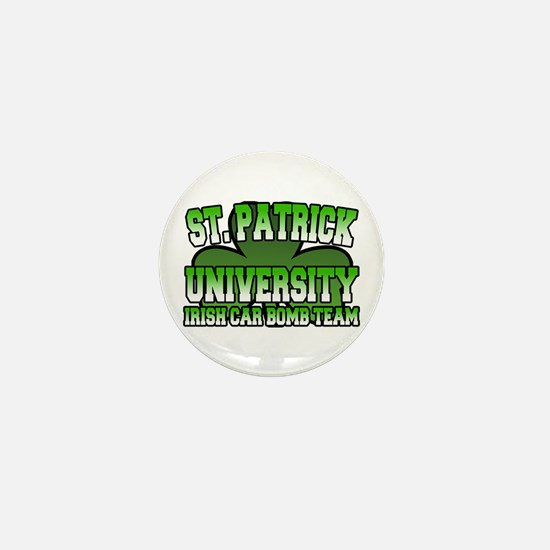 St. Patrick University Irish Car Bomb Team Mini Bu