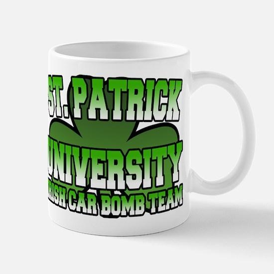 St. Patrick University Irish Car Bomb Team Mug