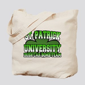 St. Patrick University Irish Car Bomb Team Tote Ba