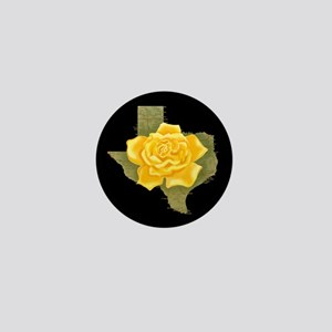 Yellow Rose of Texas Mini Button