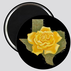 Yellow rose gifts cafepress yellow rose of texas magnet mightylinksfo