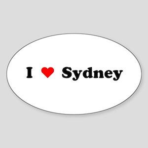 I love Sydney Oval Sticker