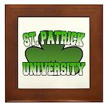 St. Patrick University Framed Tile
