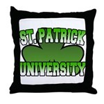 St. Patrick University Throw Pillow