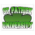 St. Patrick University Small Poster