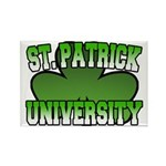 St. Patrick University Rectangle Magnet