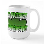 St. Patrick University Large Mug