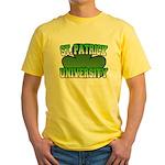 St. Patrick University Yellow T-Shirt
